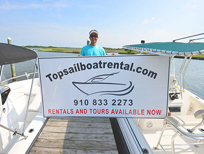 Surf City Topsail Boat Rental Dock Image
