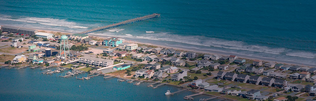 Topsail Island NC Surf City Pier Image