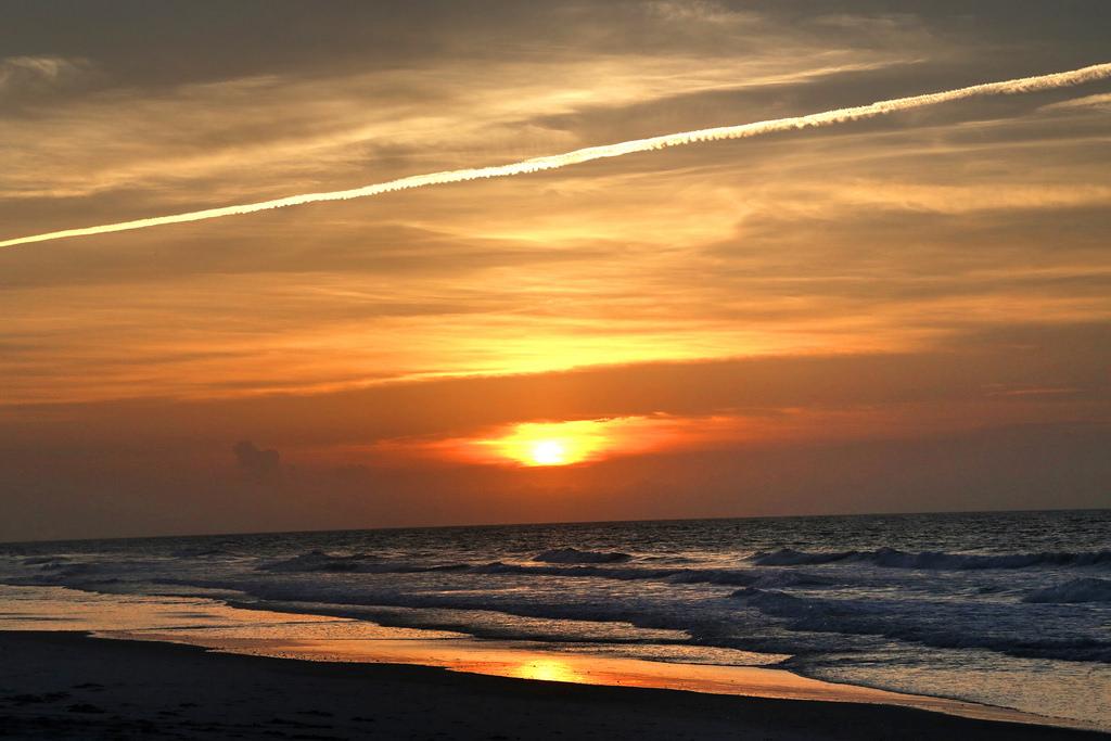 A beautiful Surf City Sunset